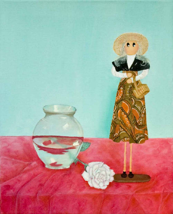 """Still Life with Wooden Doll"""